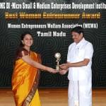 Best Women Entrepreneur Award Sujatha Pugazhendi