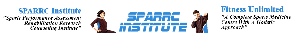 Welcome to Sparrc Institute – India's number one Sports Medicine & fitness centre